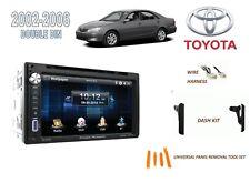 2002-2006 TOYOTA CAMRY CAR STEREO KIT, BLUETOOTH TOUCHSCREEN DVD USB