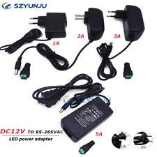 Salida De Transformes de iluminación de DC12V a AC100-240V 12V 1A 2A 3 5A adaptador de energía LED