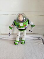 Buzz Lightyear Signature Collection Toy Story Talks Lights & Moves Head  RARE