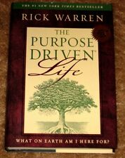 THE PURPOSE DRIVEN LIFE BY RICK WARREN HB DJ WHAT ON EARTH AM I HERE FOR