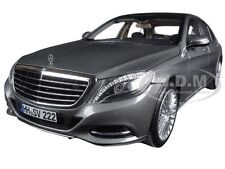 2013 MERCEDES S CLASS IRIDIUM SILVER 1/18 DIECAST MODEL CAR BY NOREV 183481