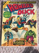 Howard The Duck Marvel Treasury Edition #12 (1976) Marvel Comics Defenders NM