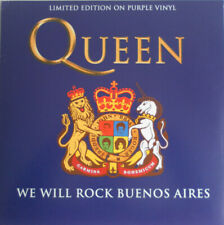 Queen - We Will Rock Buenos Aires LP (brand new) Limited Purple Vinyl CODA