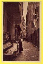 CPA France 06 NICE Rue des BOUCHERS Timbre 2 Sous pour la Santé TUBERCULOSE 1932