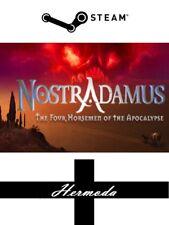 Nostradamus-las cuatro jinetes del Apocalipsis-clave de vapor para PC Windows
