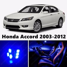 17pcs Blue LED Light Interior Package Kit for Honda Accord 2003-2012