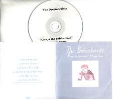 THE DECEMBERISTS Always The Bridesmaid 2008 UK 6-trk promo test CD