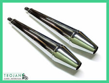Mufflers Norton Commando 'whistlers' (pair) Nos11 06-1978 Exh0035