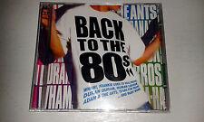 Back To The 80s  2cd: WHAM! DURAN DURAN BANGLES KING A-HA JAM NENA SOFT CELL ETC
