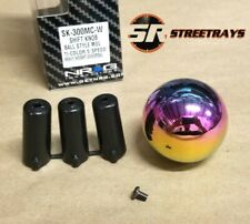 NRG Shift Knob Ball Style Neochrome NEO Chrome (Heavy Weight) Universal 5-Speed