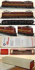 HO TRAIN RIVAROSSI PRR GG1  TUSCAN RED PLASTIC BOX MINT CONDITION 1