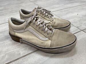 VANS Old Skool White Size 9.5 Mens 500714