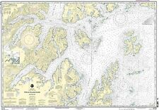 NOAA Chart Prince William Sound-western part 20th Edition 16705