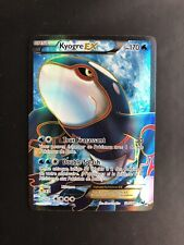 Carte Pokemon Kyogre EX 104/108 Ultra Rare Full Art Explorateurs Obscurs NB FR