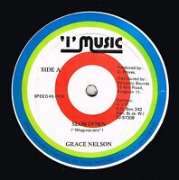 "GRACE NELSON-slow down  12""  i music (hear)    reggae"