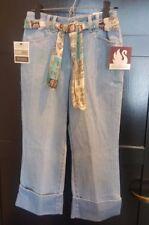Gloria Venderbilt Petite Women's Jeans with Sequin Belt - Size 8