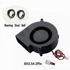 2PCS GDT DC 97MM 33MM 12V 2Pin  97mm x 33mm  Cooling Blower Fan 9733B Dual Ball