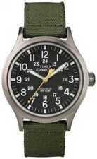 Relojes de pulsera Timex Expedition de tela/cuero para hombre