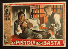 """CINEMA-fotobusta LA PISTOLA NON BASTA """"Man from Del Rio"""" quinn, jurado, HORNER"""