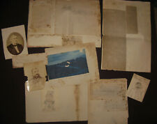 Sketches & Papers, Fort Reno OK, 1882, Capt. Bennett, 9th Cav. Buffalo Soldiers