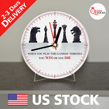 NEW Game of Thrones Targaryen House CD Clock Unique Decor Idea for Home  USA