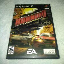 Burnout: Revenge Sony PlayStation 2, 2005 Complete Black label