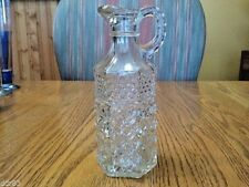 Anchor Hocking - Wexford - Clear - Vinegar Cruet - Without Stopper