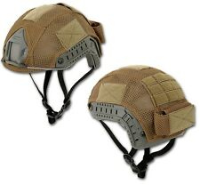 TELINO SOFTAIR COPRI ELMETTO FAST TAN AIRSOFT HELMET COVER DESERT