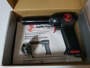 Jupiter Pneumatics 2,400 BPM, 4 Inch Long Stroke, Pneumatic Riveting Hammer 4x.