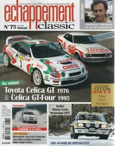 ECHAPPEMENT CLASSIC 75 TOYOTA CELICA GT 1976 CELICA GT-FOUR 1995 MONTE CARLO HIS