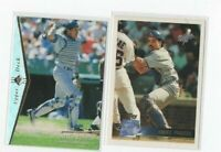 (LOT OF 2) MIKE PIAZZA (1995 UD SP SILVER #70 & 1996 TOPPS  #246)  NM DODGERS