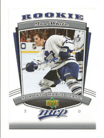2006-07 Upper Deck MVP #337 Ian White RC ROOKIE Toronto Maple Leafs
