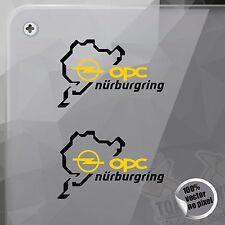 STICKER NÜRBURGRING OPEL OPC VINYL DECAL VINYL STICKER AUTOCOLLANT