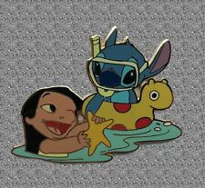 Lilo and Stitch with Starfish Pin - Disney Auctions Pin LE 500