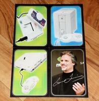 FM Towns Marty / NEC PC-FX PC-Eingine / Fujitsu / Lorne Lanning Rare Card Set
