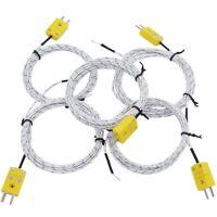 1X(5 PièCes SéRies 3 MèTre K Type Mini-Connecteur Thermocouple Sonde de Tem T1H2