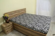 Fitted Sheet One Qty Only Zebra Print Color Full Size Top Quality 600 TC