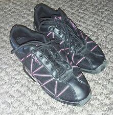 SHOES - Girls black Capezio split sole jazz dance shoes - size older UK 7.5 EU41