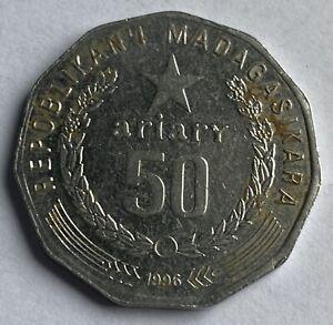 Madagascar 50 Ariary 1996 (KM#25.1)