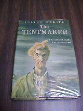 Tentmaker, The Life of St. Paul  HC & Dust Jacket Julius Berstl 1951 1st Ed. The