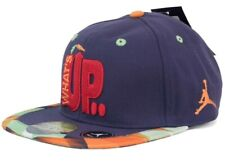 LIMITED EDITION NIKE AIR JORDAN What's Up Jock Baseball Cap Purple OneSize Youth