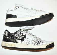 Ecko Unltd. Shoes Men's 10 Rhino Tree Print White Black Lace Up
