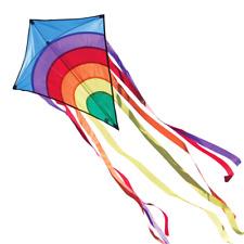 CIM Kinder-Drachen Rainbow Eddy Blue Flugdrachen drachenfliegen inkl. Schnur