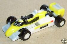 FORMULE 1 RE20/24 JAUNE TEAM F1 RENAULT COURSE GRAND PRIX FEVE PORCELAINE 3D