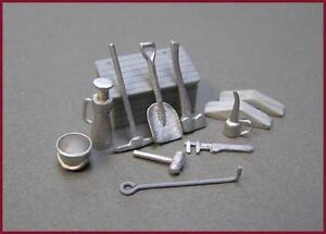O/On2/On30 GC Design Group LOCO DETAIL-- TOOL SET- Train accessories