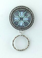 Celtic Magnetic ID Badge Eyeglass Holder, Magnetic Pin Brooch