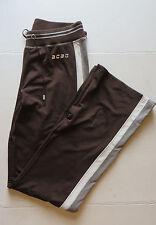 Womens BCBG Brown Sweat Pants Sz Med Lounge Yoga Gym Workout Fitness Drawstring