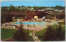1960's Vintage Postcard Los Gatos Lodge Los Gatos, CA