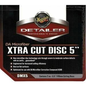 """Meguiars DA Microfiber Xtra Cut Pad 5""""  (2 pcs)"""