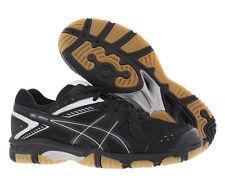 Asics Women's Gel 1150V Volleyball Shoes Sz 9 NEW B457Y-9090 Black/Silver/Gum